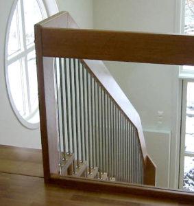 Rekkverk - Forus rekke med glass innfrest-0