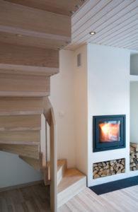 Foldetrapp - Hvit pigmentert-2519