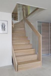 Foldetrapp - Hvit pigmentert-2530