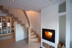 Foldetrapp - Hvit pigmentert-2517