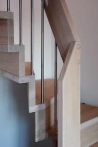 Foldetrapp - Hvit pigmentert-2518