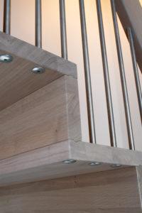 Foldetrapp - Hvit pigmentert-2516